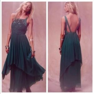 FREE PEOPLE RARE NORDIC NIGHTS MAXI GOWN 2